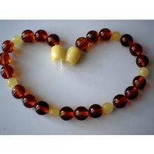 EXCELLENT QUALITY 7- 8MM NATURAL BALTIC AMBER BRACELET
