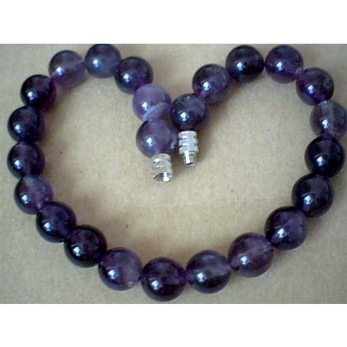 SUPERB & EXCELLENT QUALITY 8MM AMETHYST BRACELET
