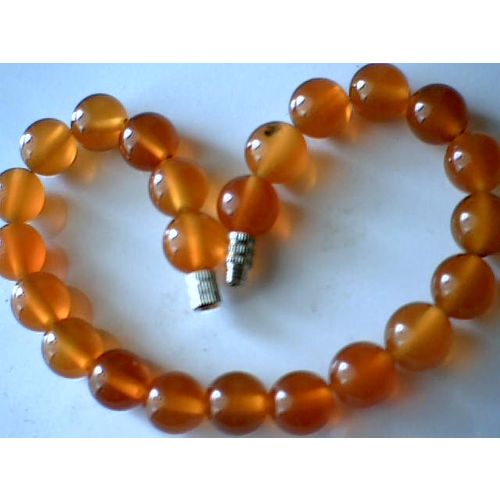 EXCELLENT QUALITY 8MM NATURAL CARNELIAN BRACELET